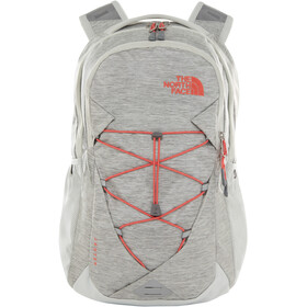 The North Face Jester Sac à dos Femme, tin grey dark heather/spiced coral